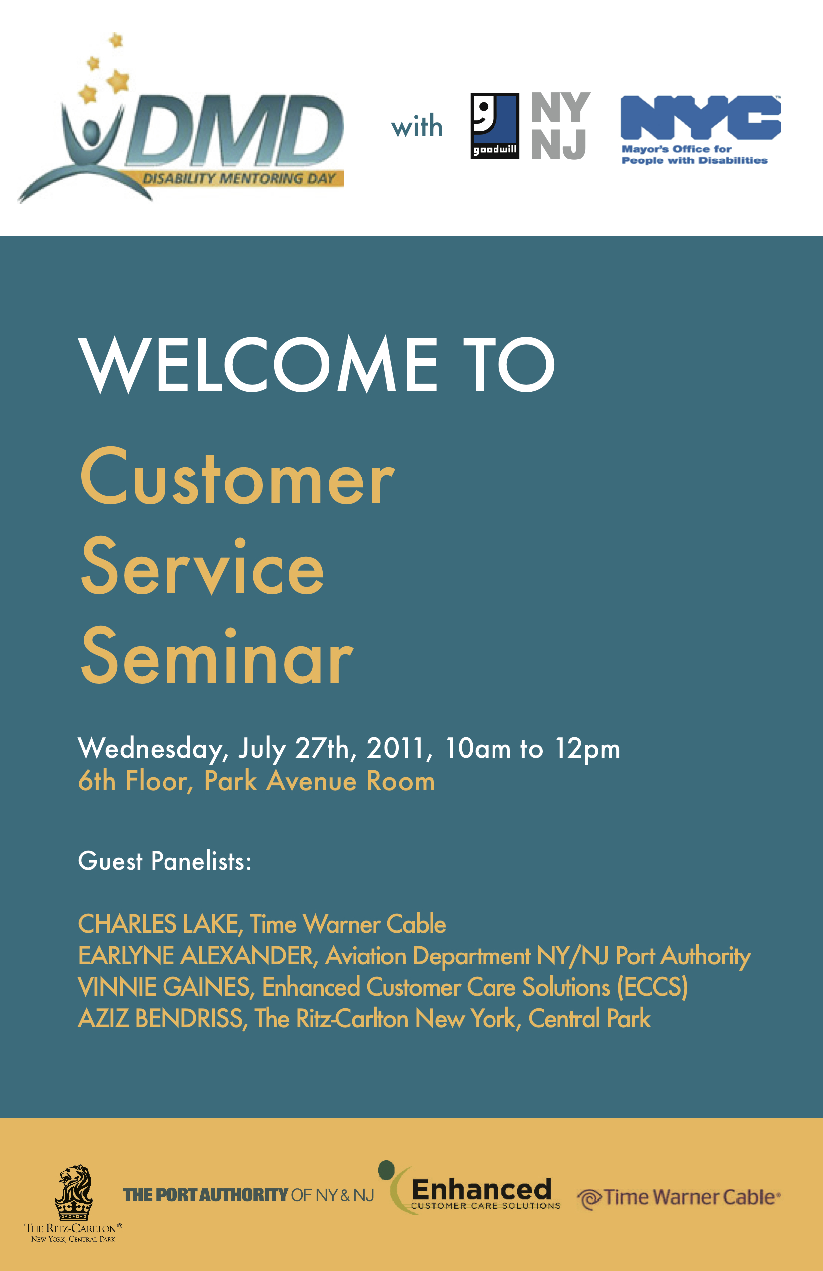 Disability Mentoring Day & Customer Service | Where the