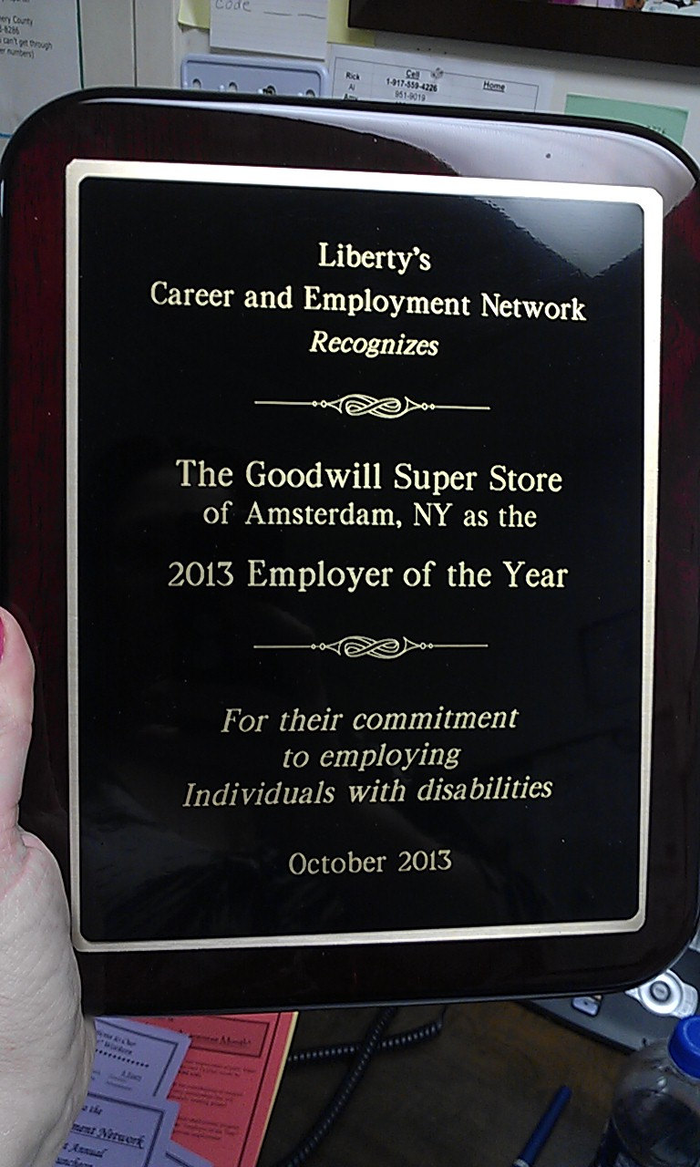 Goodwill Accepts Multiple Awards During NDEAM   Where the ...