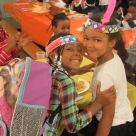 students thanksgiving school photo