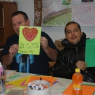 GW Valentine card making for Vets