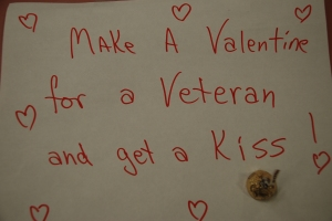GW Valentine card for Vets
