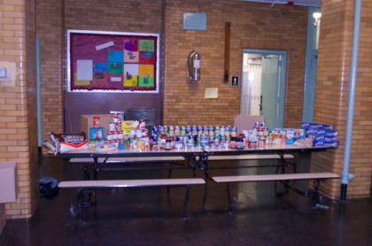 Move for Hunger Food Drive 2