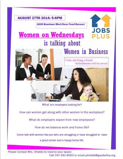Women on Wednesdays