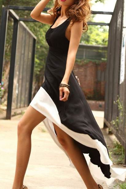 This pin from Dave L. is a perfect example of a statement high low dress!