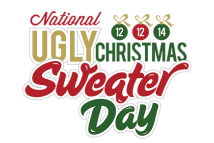 This Friday, December 12th, is the fourth annual National Ugly Christmas Sweater Day