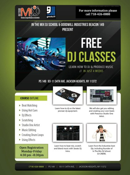 In the Mix DJ Classes